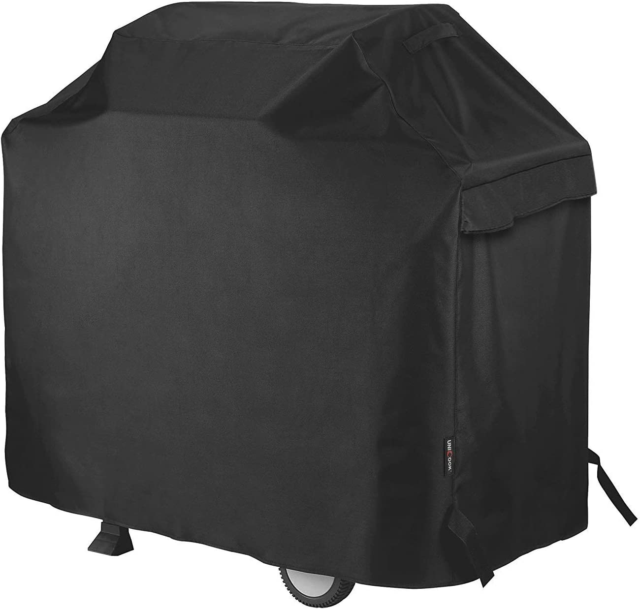 """Unicook Heavy Duty Waterproof Barbecue Gas Grill Cover, Small 50-inch BBQ Cover, Special Fade and UV Resistant Material, Fits Grills of Weber Char-Broil Nexgrill Brinkmann and More, 50""""W x 22""""D x 40""""H : Garden & Outdoor"""