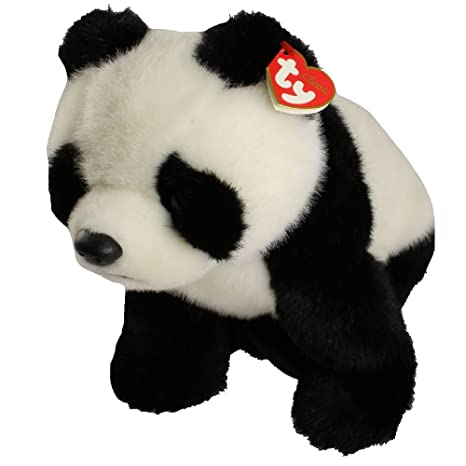 Amazon.com  TY Classic Plush - BAMBOO the Panda Bear by Ty Inc ... 5f057f50901