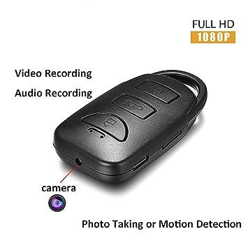 YMXLJJ 1080P Full HD cámara Coche Llave Mini cámara portátil ...