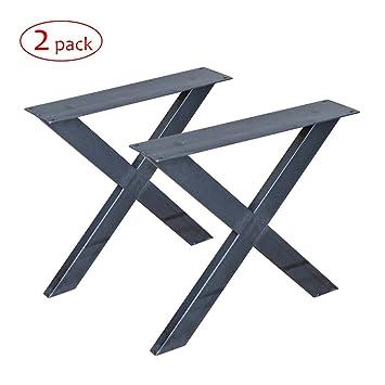 Metall Couchtisch X Beine 1 Paar Rusty Design W5034d2 Amazon De
