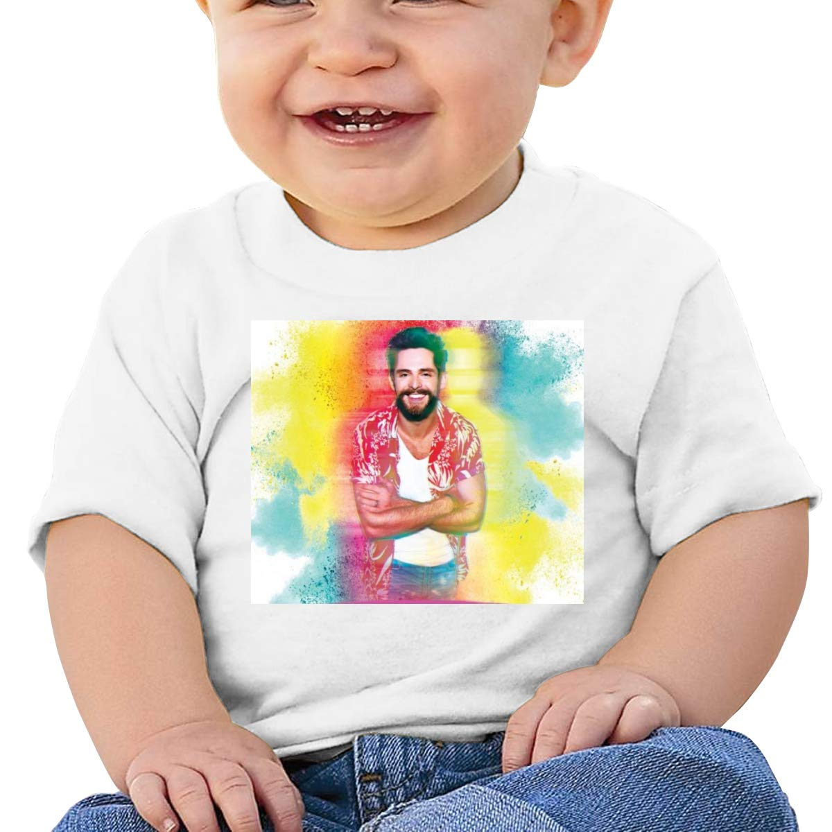 Kangtians Baby Thomas Rhett Short Sleeve Shirt Toddler Tee