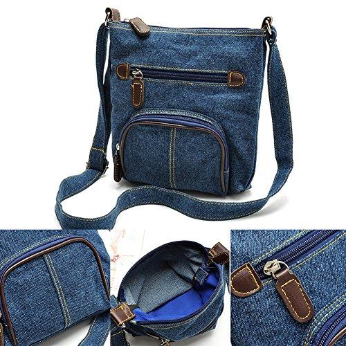 Women Purse Hobo Ladies Tote Handbag Shoulder Satchel Casual Messenger Denim Bag Bags wBwrAq