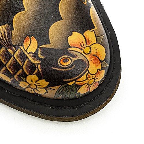 Dr. Martens 1461 Tattoo Sleeve TAN - zapatos con cordones de cuero unisex marrón - Braun (TAN)