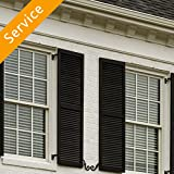 Exterior Decorative Window Shutter Installation - First Time - 1-2 Windows