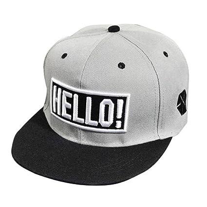 Morwind Cappello Uomo Hip Hop Nero - Cappello Piatto Nero - Moda Ricamo  Snapback Boy Hiphop 4dabeb8f9b04