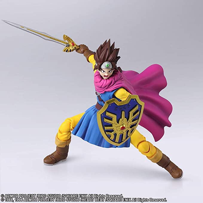 Amazon Com Square Enix Dragon Quest Iii Bring Arts Hero Action Figure Toys Games Check out our dragon quest hero selection for the very best in unique or custom, handmade pieces from our shops. square enix dragon quest iii bring arts hero action figure