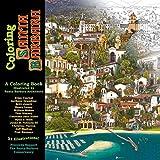 img - for Coloring Santa Barbara book / textbook / text book