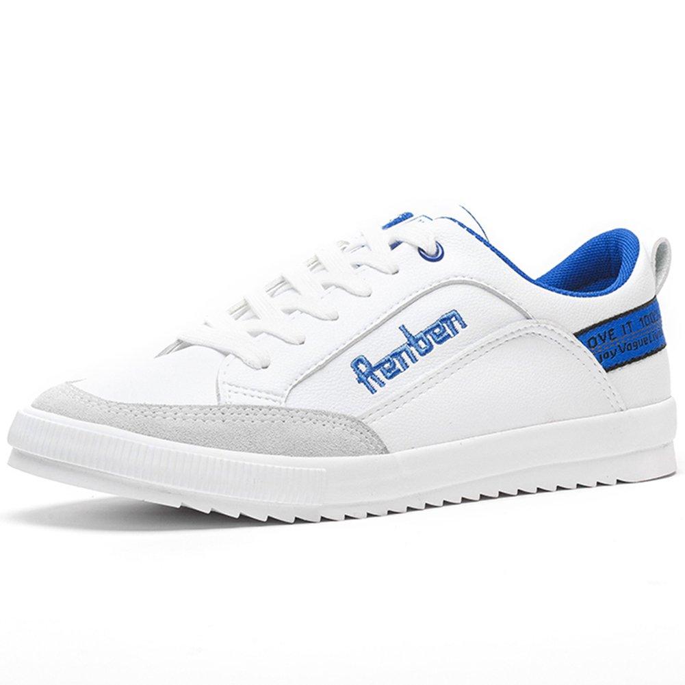 YIXINY Deporte Zapato 7587 Versión Coreana Del Período De Primavera Y Otoño Nuevo Moda De Moda Zapatos Casuales Para Hombres ( Color : Blanco , Tamaño : EU39/UK6.5/CN40 ) EU39/UK6.5/CN40 Blanco