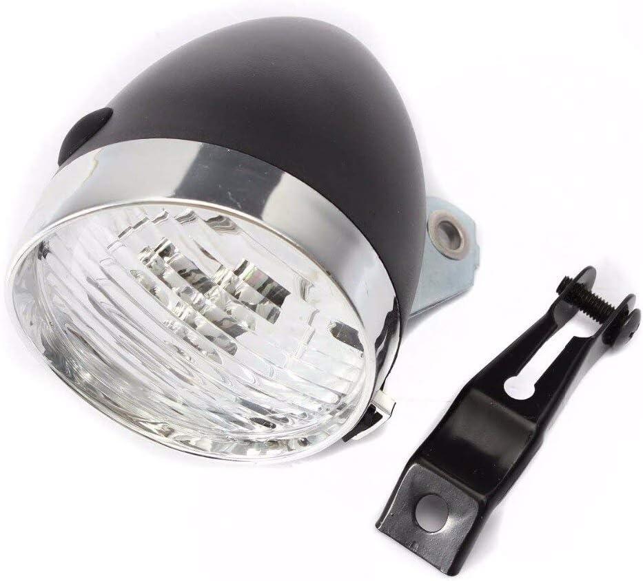 Bike Head Light Retro 3 LED MTB Bicycle Light Waterproof Front Lamp Flashlight