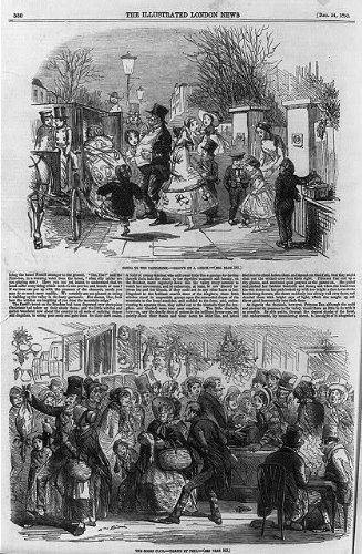 Photo: Daily Life in London,Goose Club,1853,Pantomime,Lottery (Best Christmas Pantomimes)