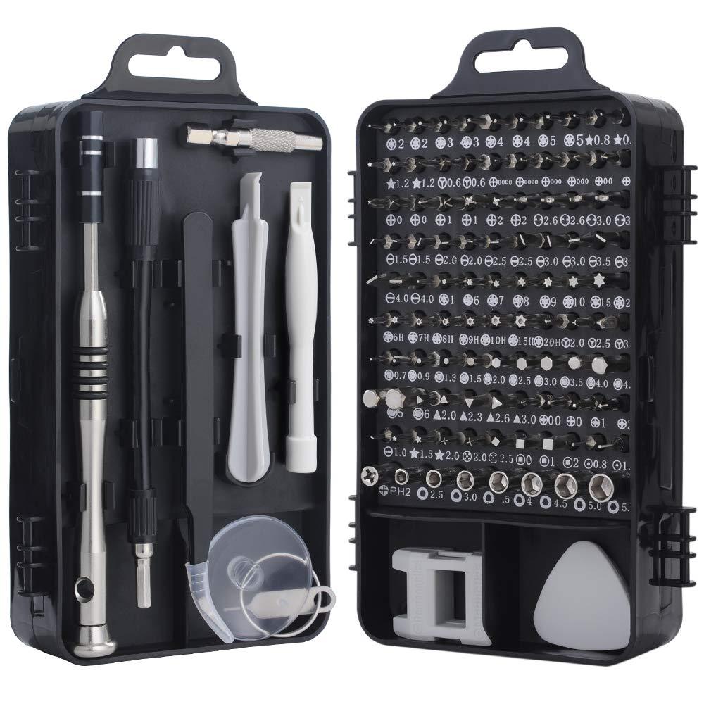 Kit De Reparacion De Celulares, Tablet, Pc, Etc - Juego De Destornilladores, 110 Piezas, Xsr