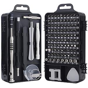 Screwdriver Set, Trekoo 110 in 1 Precision Screwdriver Repair Tool Kit Magnetic Driver Kit Professional Repair Tool Kit for iPhone X, 8, 7 / Cellphone/Computer/Tablet/PC/electronic etc
