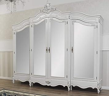 Simone Guarracino Armadio Julian Stile Barocco Moderno Bianco ...