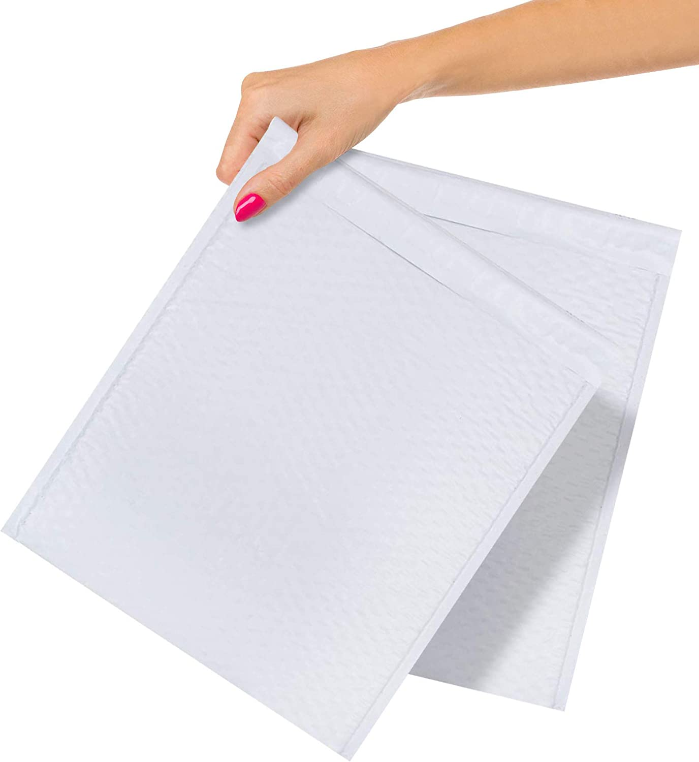 """7.25x12/"""" White Padded Envelope Water Proof Poly Bubble Mailers Self Seal 200 pcs"""