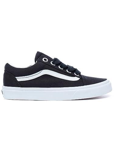 Vans Sneaker Men Oversized Lace Old Skool Sneakers Black True White   Amazon.co.uk  Shoes   Bags c3b27c82c
