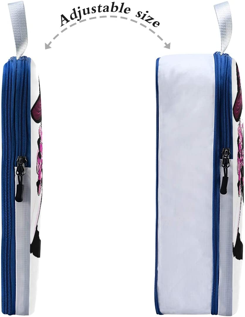 Beauty Girl 3 Set Packing Cubes,2 Various Sizes Travel Luggage Packing Organizers e