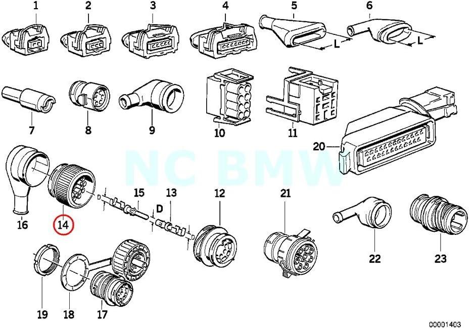 Amazon.com: BMW Genuine Plug Terminal Engine Wiring Harness: AutomotiveAmazon.com
