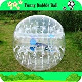 Yoli Colorful,clear, Red ,Blue Bubble Soccer Ball Dia 3.28' (1m) Human Inflatable Bumper Bubble Balls,inflatable Bubble Zorb Ball