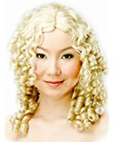Blonde Curly Ringlets Wig