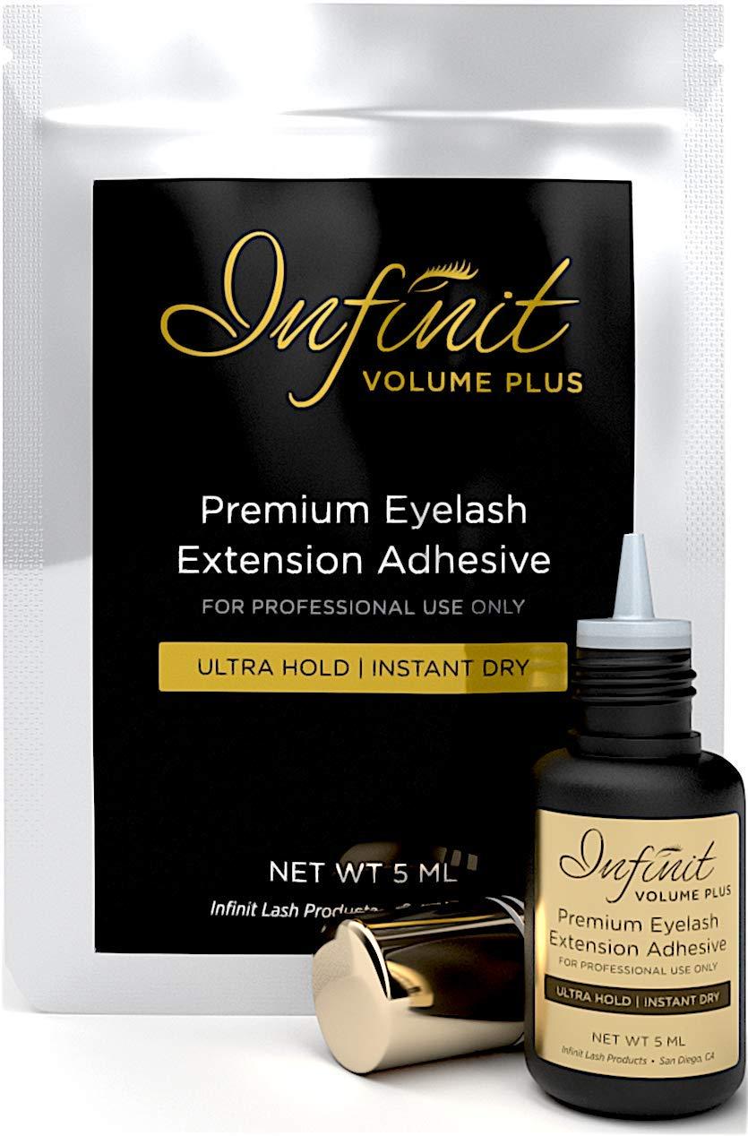 Eyelash Extension Glue - Volume Plus Eyelash Glue for Individual Eyelashes  | 1-2 Sec Drying Time |