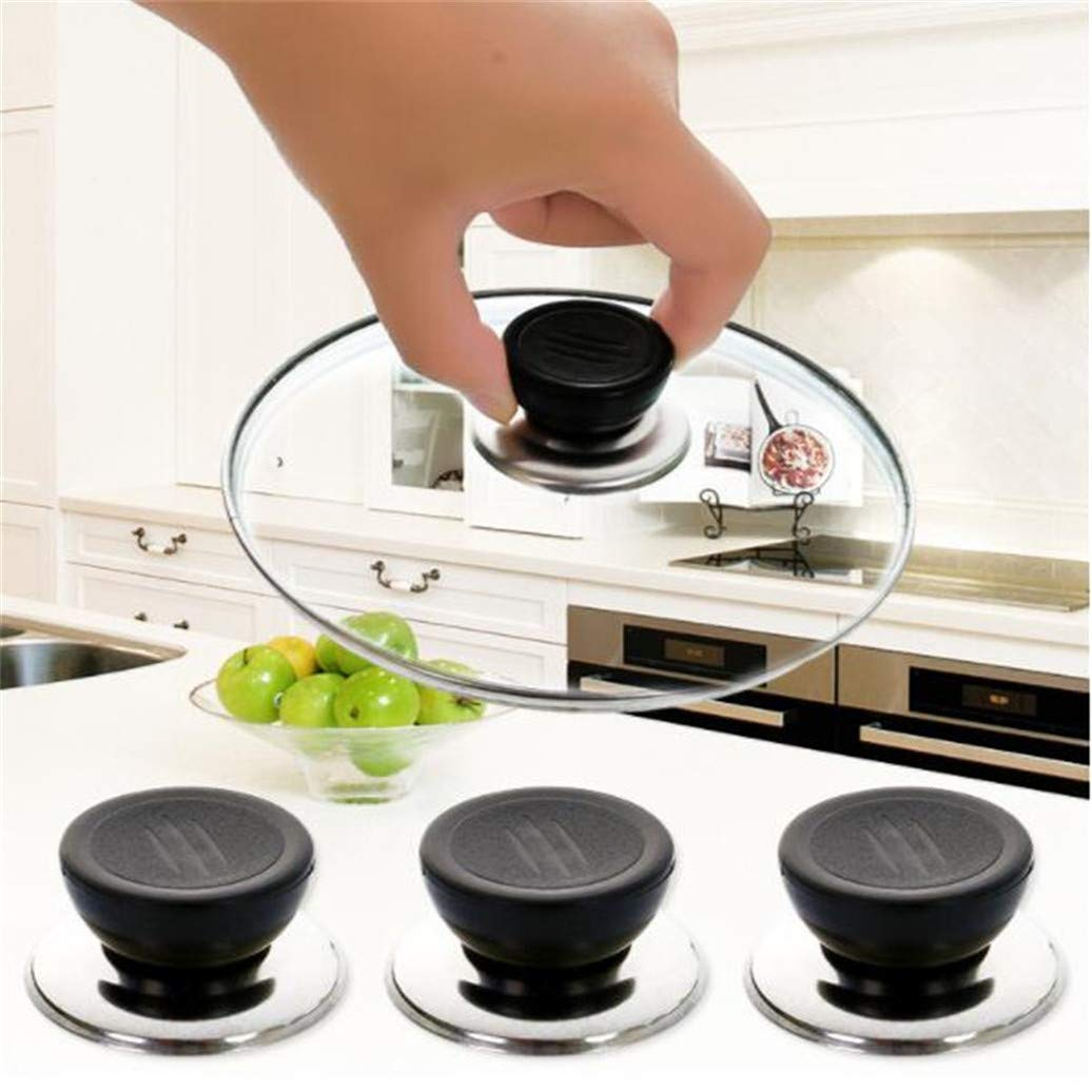 Kshcf Pot Lid Handle Replacement Cookware Knob Pan Pot Cap Screw Handle Kitchen Universal Cover Handle Plastic Holding Handle