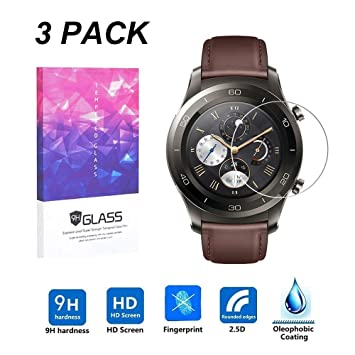 LUXACURY Huawei Watch 2 Pro Protector Pantalla Cristal ...