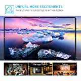 120 inch Projection Screen, Foldable Portable