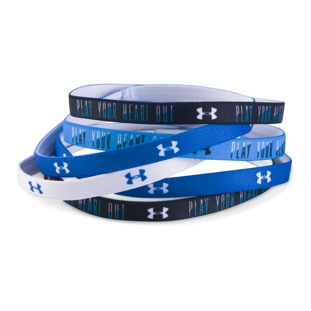 Under Armour Girls' Graphic Headbands - 6 Pack, One Size