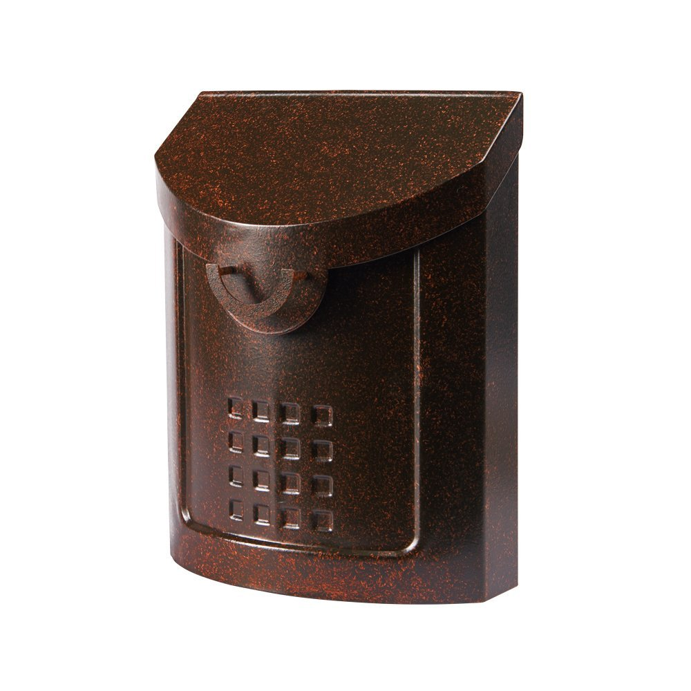 Gibraltar Industries MB694AC2 Neo Classic Mailbox, Medium, Aged Copper by Gibraltar Industries