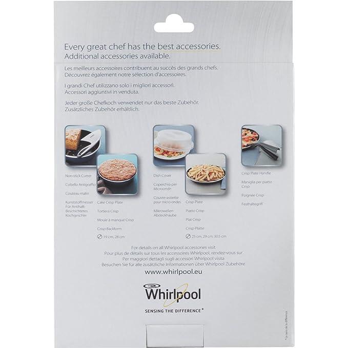 Whirlpool STM008 - menaje para microondas (Steamer, Púrpura, Color blanco, Color blanco): Amazon.es: Grandes electrodomésticos