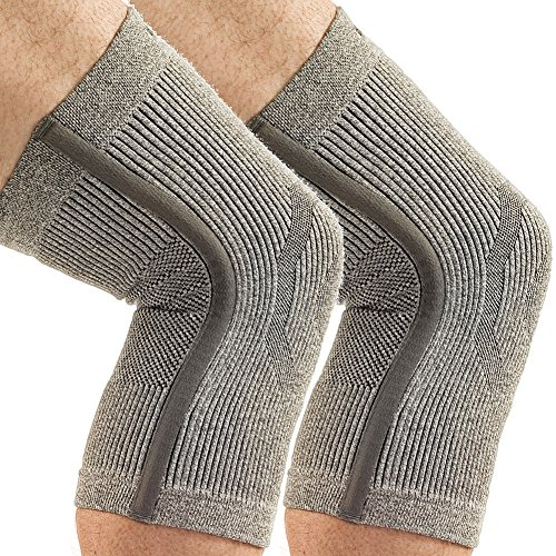 Incrediwear Knee Support Braces Aids Sports Injuries & Arthritis - 1 Pair 2X by Star Nutrition