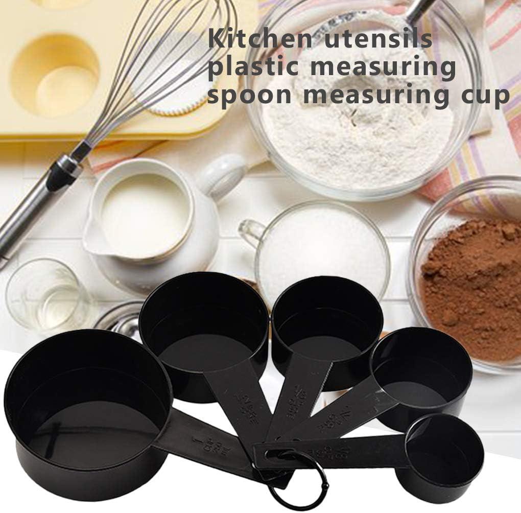 PRENKIN 10pcs Set de Cuisine cuill/ères /à mesurer cuill/ère /à caf/é de Sucre Scoop g/âteau de Cuisson Farine Coupes de Mesure