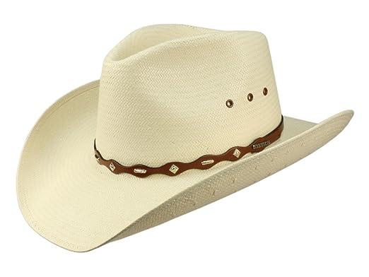 wide range coupon codes many fashionable HORIZON WEISS Strohhut Western Cowboy von Stetson - S/54-55 ...