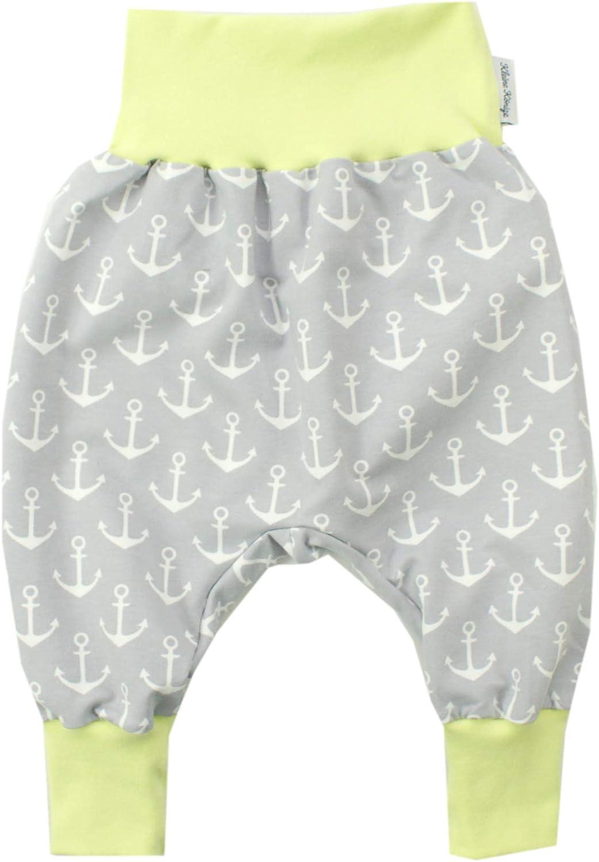 Marine blau /· /Ökotex 100 Zertifiziert /· Gr/ö/ßen 50-164 Kleine K/önige Pumphose Baby Sweathose Jungen /· Modell Segelboot Sailing Anker