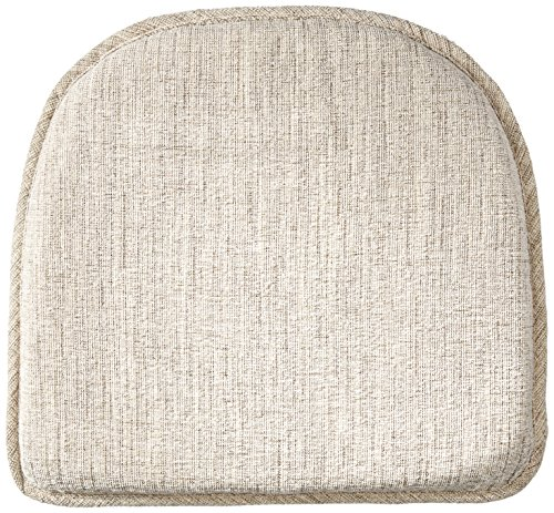 Klear Vu Salinger Gripper Non-Slip Chair Padded Seat Cushion, 15