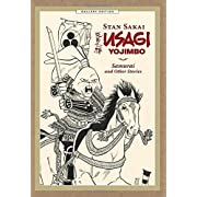 Amazon Lightning Deal 85% claimed: Usagi Yojimbo Gallery Edition Volume 1: Samurai