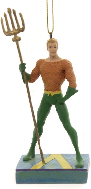 Enesco DC Comics by Jim Shore Aquaman Silver Age Ornament