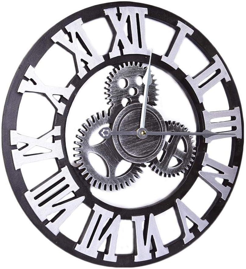 per Relojes de Engranaje Decorativos para Pared Colgadores Murales para Bar Cafetera y Casa de Estilo Retro: Amazon.es: Hogar