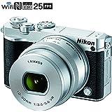 Nikon 1 J5 Digital Camera w/NIKKOR 10-30mm f/3.5-5.6 PD Zoom Lens - Silver (Certified Refurbished)