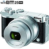 Nikon 1 J5 Digital Camera w/ NIKKOR 10-30mm f/3.5-5.6 PD Zoom Lens - Silver (Certified Refurbished)