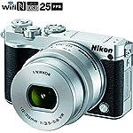 Nikon 1 J5 Digital Camera w/ NIKKOR 10-30mm f/3.5-5.6 PD Zoom Lens - Silver (Certified Refurbished)