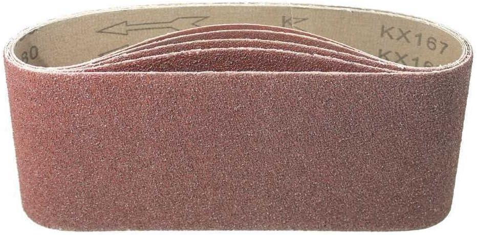 Wolfcraft 1933100 Bandes abrasifs 100 x 560 mm Assortiment Lot de 9