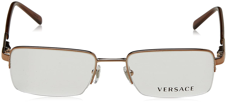 1637620dade28 Amazon.com  Versace VE1066 Eyeglasses-1053 Light Brown-50mm  Shoes