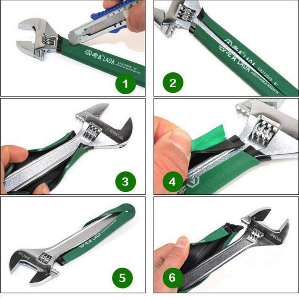 Changli Stainless Steel Anti-Slide Adjustable Spanner,6 Inch Adjust Wrenches with Scale