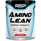 RSP AminoLean - All-in-One Pre Workout, Amino Energy, Weight Management Supplement with Amino Acids, Complete Preworkout Energy & Natural Weight Management for Men & Women, Fruit Punch, 30 Serv
