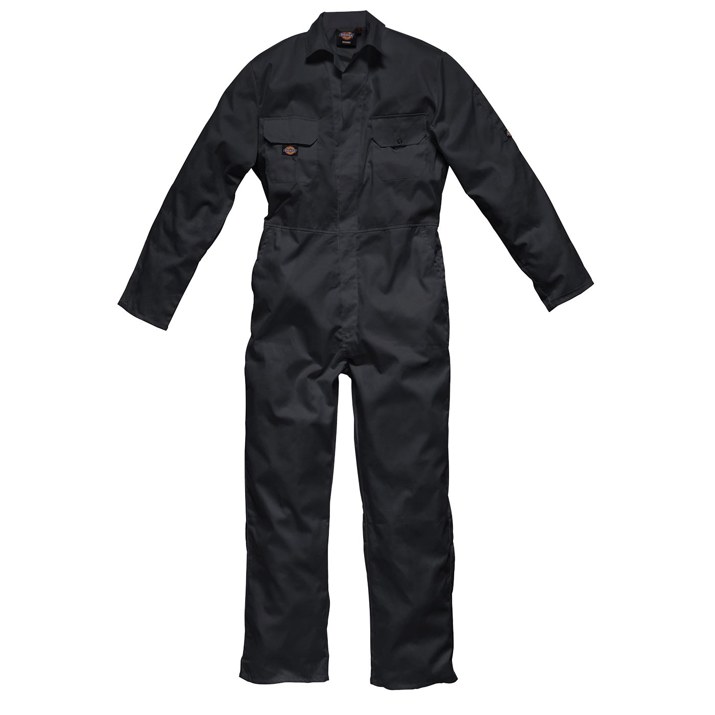 Dickies WD4819T NV S Size Small 'Redhawk Economy Stud' Coverall - Navy Blue
