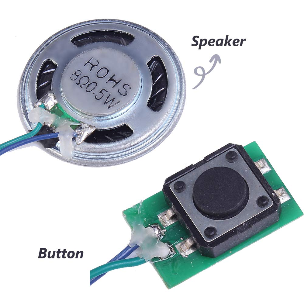 Audio & Video Replacement Parts Reliable Usb Download Push Button Audio Playback Mp3 Sound Module Voice Circuit With Speaker And Lithium Battery For Toys Greeting Cards Low Price