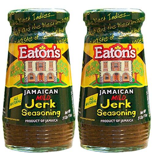 Mild Seasoning (Eaton's Jerk Seasoning (Mild) (Pack of 2))