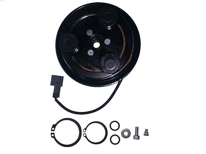 Subaru Impreza (02 - 07) a/c Kit de embrague del compresor AC (Polea, rodamientos, Coil, plate): Amazon.es: Coche y moto