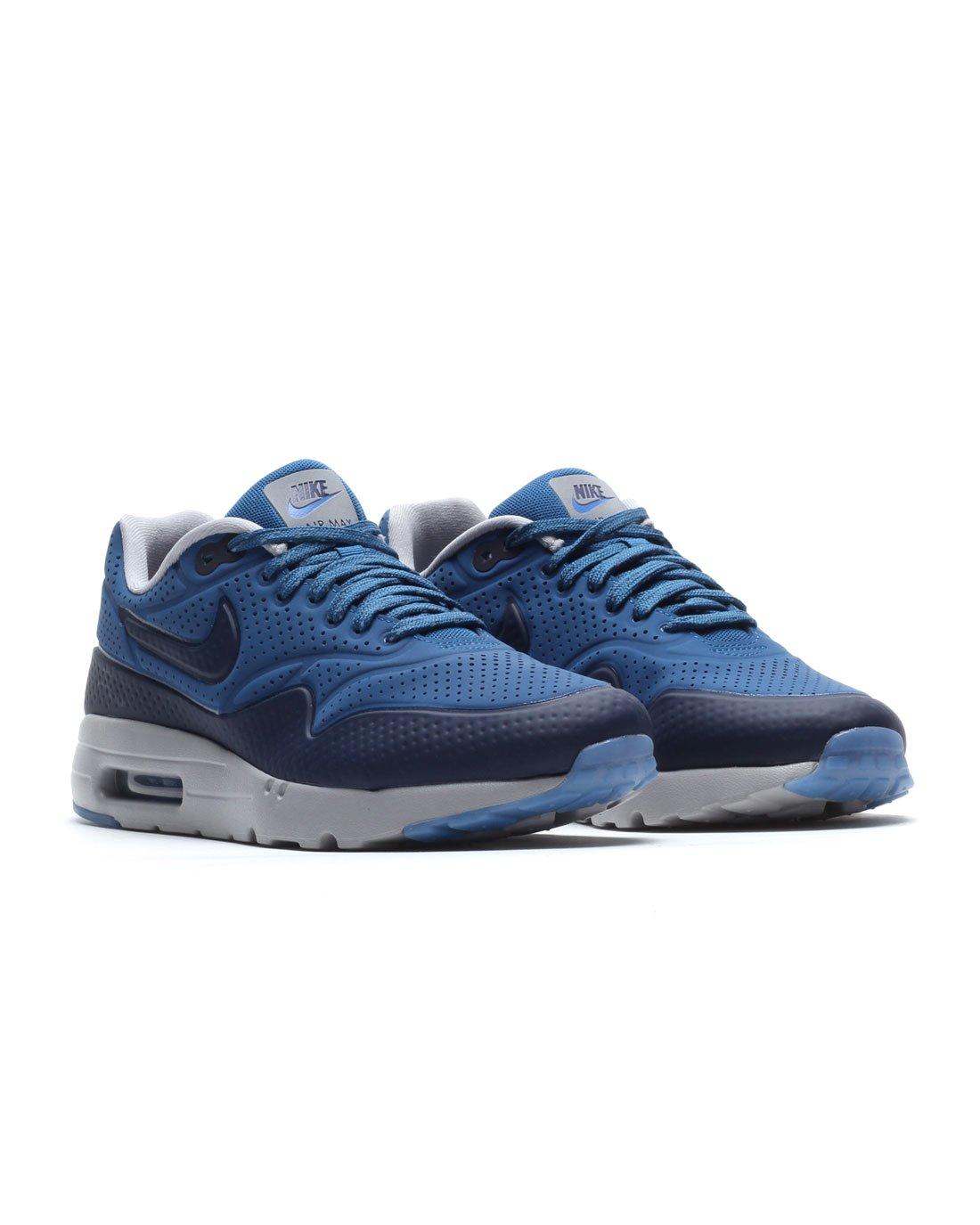 NIKE Herren Schuhe Air Max 1 Ultra Moire 705297402 blau US 7